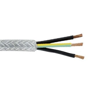 0.75mm 3 Core SY Cable (Per Metre)
