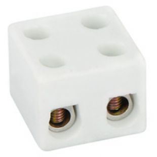 5A 2 Way Porcelain Connector