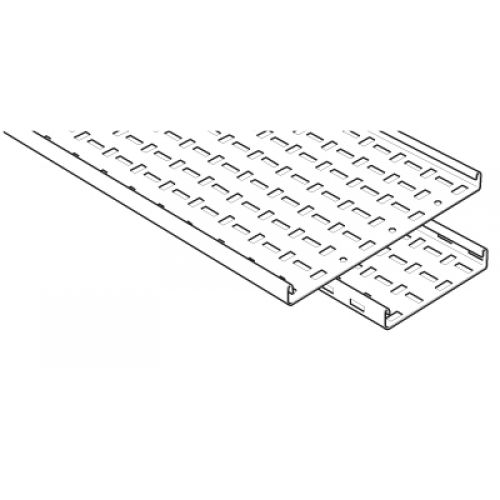 Legrand Swifts Mrfl100pg Medium Duty Cable Tray 100mm 3 Metre Length