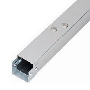 Legrand Salamandre MGR33 Galvanised Single Compartment Trunking  75mm x 75mm 3 Metre Length