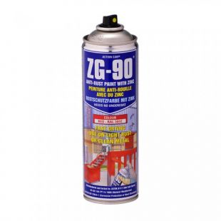 Action Can Anti-Rust Paint Red 500ml