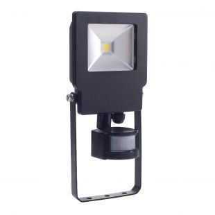 Bell 04495 LED IP65 10W Floodlight & PIR - 4000K Cool White