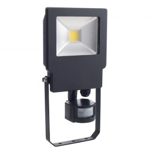 Bell 04496 LED IP65 20W Floodlight & PIR - 4000K Cool White