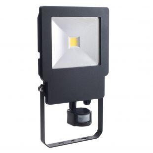 Bell 04499 LED IP65 50W Floodlight & PIR - 4000K Cool White