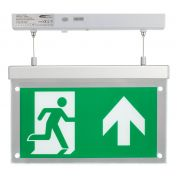 Bell 09009 LED Emergency Exit Blade 2.5W - Surface Suspended Up