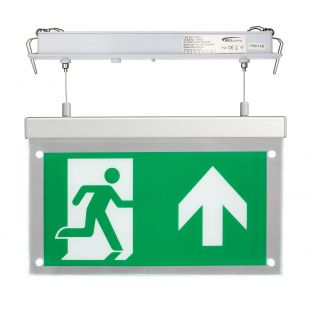 Bell 09010 LED Emergency Exit Blade - Recessed Suspended Up