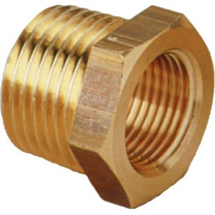 48mm Male - 32mm Female Brass Reducer