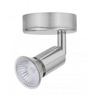 Bell 10370 Luna Single GU10 Spotlight - Chrome IP20