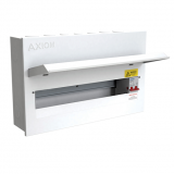 CED Axiom 16 Way Metal Consumer Unit c/w 100A Isolator