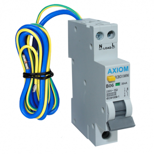 CED Axiom 6A 30mA Mini Single Module Type B RCBO