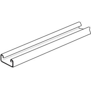 Pre-Galvanised Single Plain Channel 41mm x 21mm x 2.5mm 3 Metre Length