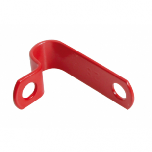AP10 10.0mm Red LSF Coated Copper P Clip Pack Of 100