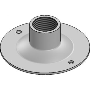 20mm Galvanised Steel Dome Cover