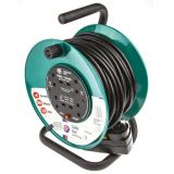 Schneider 13A 4 Socket RCD Extension Reel 30 Metre