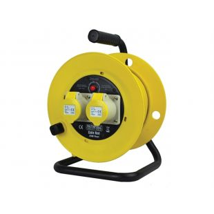 Faithfull Cable Reel 110V 16A 25 Metre 2.5mm Cable