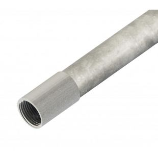 20mm Galvanised Class 4 Steel Conduit 3 Metre Length
