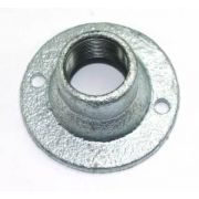20mm Galvanised Dome Cover Malleable