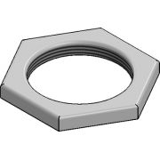 "2"" Galvanised Lock Nut"