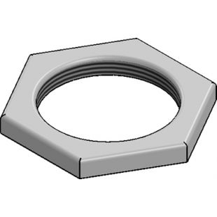 25mm Galvanised Lock Nut