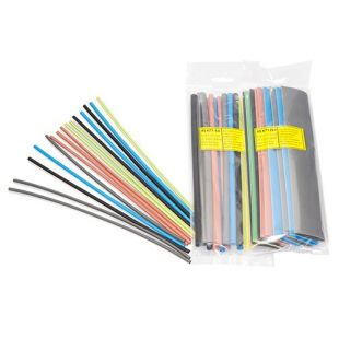 Partex Heat Shrink Tube Pack Euro Colours 6.4mm - 3.2mm