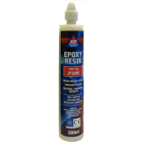 JCP Pure Epoxy Injection Resin In Cartridge + 1 Mixer Nozzle 300ml