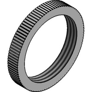32mm Galvanised Milled Edge Lockring