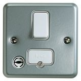 MK K932ALM Metalclad Plus Double Pole Switched Connection Unit With Flex Outlet & Surface Mounting B