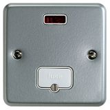 MK K983ALM Metalclad Plus Unswitched Connection Unit With Neon & Surface Mounting Box 13A