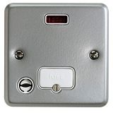 MK K986ALM Metalclad Plus Unswitched Connection Unit With Neon, Flex Outlet & Surface Mounting Box 1