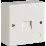Knightsbridge 2/3A Surface Mount Telephone Extension Socket (IDC)