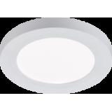 Knightsbridge 230V 6W CCT Adjustable Circular LED Panel - 140mm