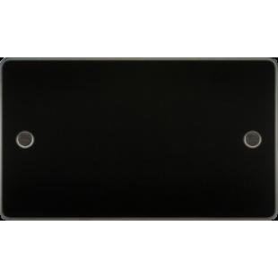 Flat Plate 2G Blanking Plate - Gunmetal