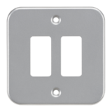 Knightsbridge Metalclad 2G Grid Faceplate
