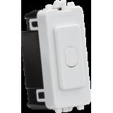 Knightsbridge Press Dimmer Module 10-200W - White