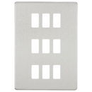 SCREWLESS GRID FACEPLATES