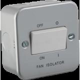 Knightsbridge Metal Clad 10A Fan Isolator Switch