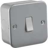 Knightsbridge Metal Clad 10A Intermediate Switch