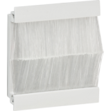 Knightsbridge Brush Module 50mm x 50mm - White