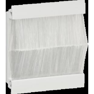 Knightsbridge Brush Module 50mm x 50mm - White