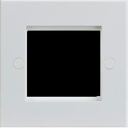 Knightsbridge 2G Modular Faceplate - White