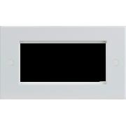 Knightsbridge 4G Modular Faceplate - White
