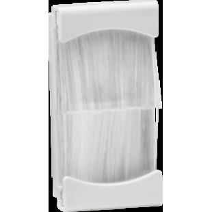 Knightsbridge Brush Module 25mm x 50mm - White