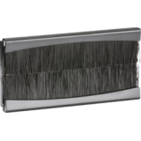 Knightsbridge Brush Module 100mm x 50mm - Black