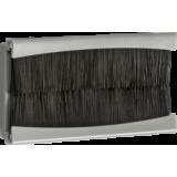 Knightsbridge 100mm x 50mm Brush Module - Grey