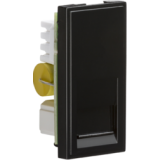 Telephone Master Outlet Module 25mm x 50mm (IDC) - Black