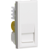 Telephone Master Outlet Module 25mm x 50mm (IDC) - White