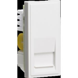 Knightsbridge Telephone Master Outlet Module 25mm x 50mm (IDC) - White