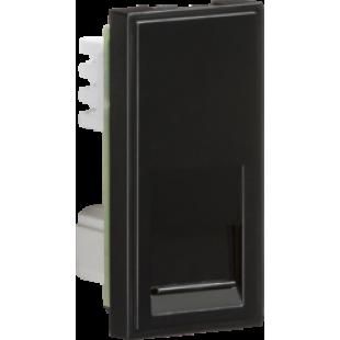 Knightsbridge Telephone Secondary Outlet Module 25mm x 50mm (IDC) - Black