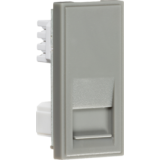 Knightsbridge Telephone Secondary Outlet Module 25mm x 50mm (IDC) - Grey