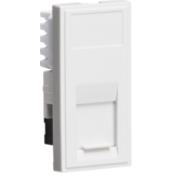 Knightsbridge UTP CAT6 RJ45 Outlet Module 25mm x 50mm - White